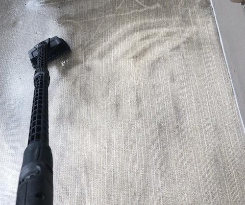 ケルヒャーK3サイレント ベランダの洗浄能力