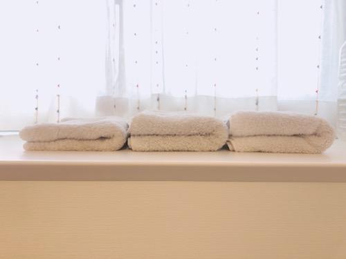キューブルのタオル専用モード