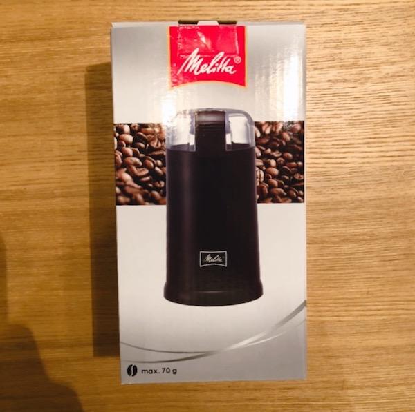 メリタ電動コーヒーミルのレビュー