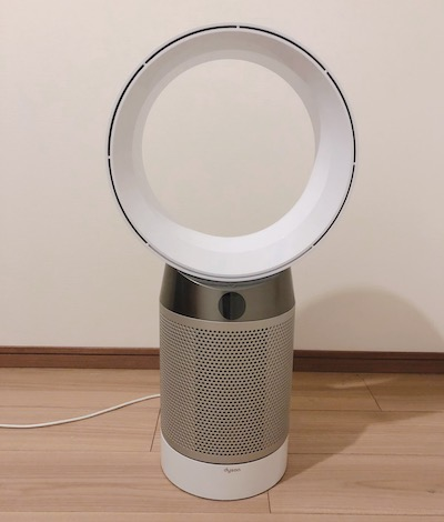 ダイソンの空気清浄機付き扇風機