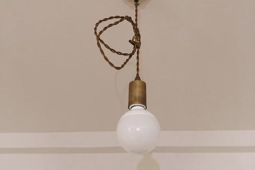 unico電球をLEDに交換