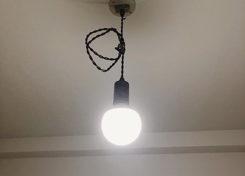 unico電球LEDに交換