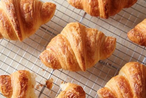 冷凍パンで発酵バターたっぷりのクロワッサン