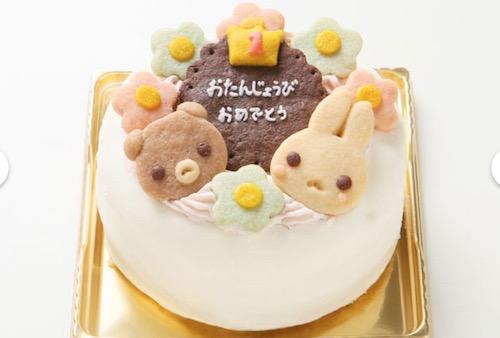 卵不使用の誕生日ケーキ