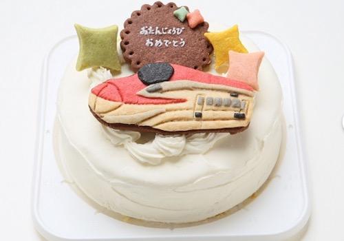 男の子の目が輝く!のりものケーキ